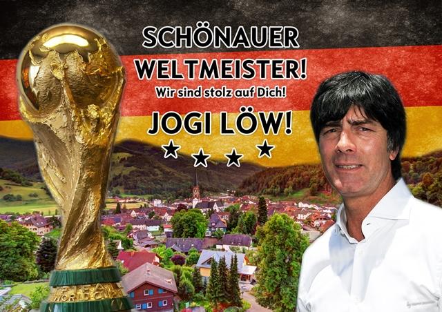 Stadt Schönau Im Schwarzwald Jogi Löw Fußball Wm 2014